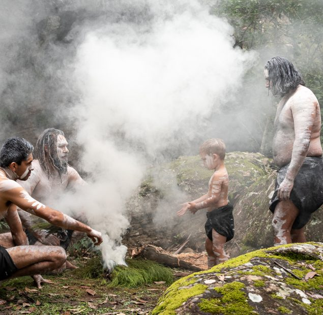 Traditional smoking ceremony