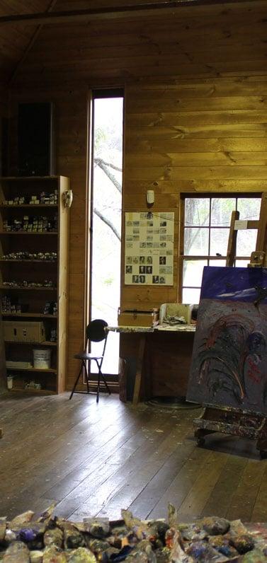 Arthur Boyd's Studio